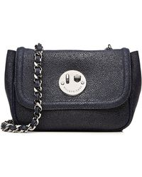 Hill & Friends - Happy Chain Leather Shoulder Bag - Lyst