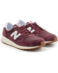New Balance - 420 Trainers With Suede - Lyst