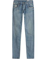 Rag & Bone - Straight Leg Jeans - Lyst