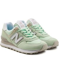 New Balance - Wl574 Trainers With Mesh - Lyst