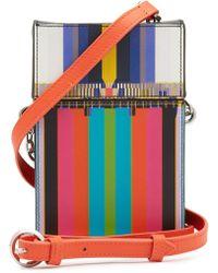 Liebeskind Berlin - Printed Leather Crossbody Bag - Lyst