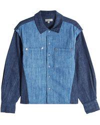 Public School - Denim Shirt - Lyst