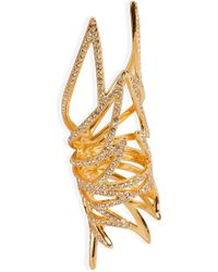 Eddie Borgo - Gold-plated Pave Wing Ring - Lyst