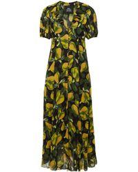 Marc Jacobs Printed Maxi Dress