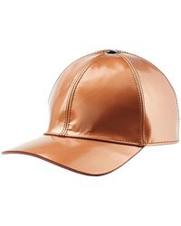 Marc Jacobs - Leather Baseball Hat - Lyst