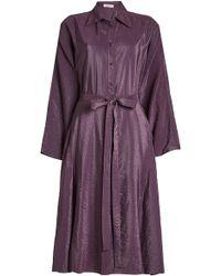 Nina Ricci - Shirt Dress With Belt - Lyst