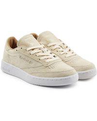 Reebok - Club C 85 Suede Sneakers - Lyst