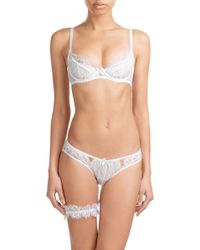 L'Agent by Agent Provocateur - Lace Garter Belt - Lyst