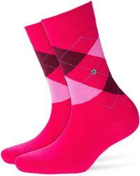 Smythson - Printed Virgin Wool Ankle Socks - Lyst