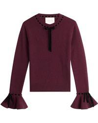 ROKSANDA - Wool-cashmere Pullover - Lyst
