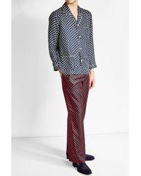 Marc Jacobs - Polka Dot Silk Pyjama Set - Lyst