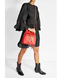 Henry Beguelin - Leather Bucket Bag - Lyst