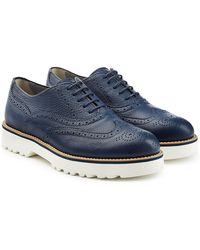 Hogan - Leather Loafers - Lyst