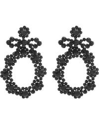 Simone Rocha - Crystal-beaded Earrings - Lyst