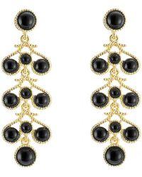 Kenneth Jay Lane   Embellished Drop Earrings   Lyst