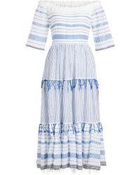 lemlem - Tiki Cotton Maxi Dress - Lyst