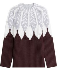 Peter Pilotto - Wool Intarsia Knit Pullover - Lyst
