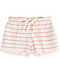 lemlem - Yodit Cotton Shorts - Lyst