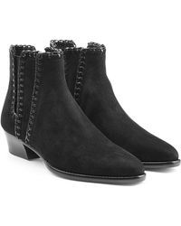Michael Kors - Suede Ankle Boots - Lyst