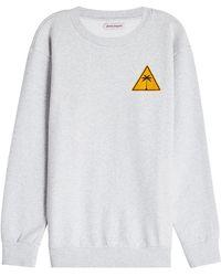Palm Angels - Palm Iconic Cotton Sweatshirt - Lyst