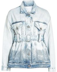 Golden Goose Deluxe Brand - Viola Denim Jacket - Lyst