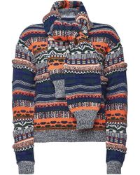 Carven - Knit Pullover With Wool, Alpaca And Mohair - Lyst