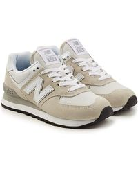 New Balance - Wl574b Trainers With Suede And Mesh - Lyst