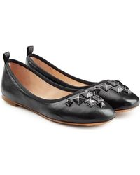 Marc Jacobs - Embellished Leather Ballerinas - Lyst