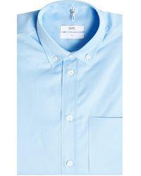 OAMC - Contrasting Hem And Cuff Shirt - Lyst