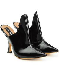 Y. Project - Leather Mules - Lyst