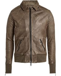 Giorgio Brato - Leather Jacket - Lyst