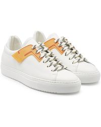 OAMC - Patch Sneakers With Leather - Lyst