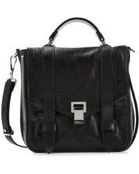 Proenza Schouler - Ps1 Leather Backpack - Lyst