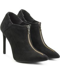 Roland Mouret - Suede Ankle Boots - Lyst