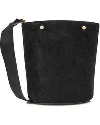 Marni - Suede Shoulder Bag - Lyst