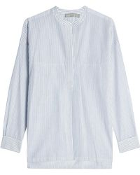 Vince - Striped Cotton Tunic - Lyst