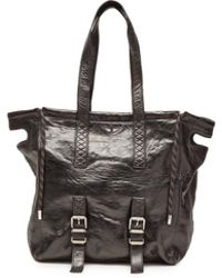 Zadig & Voltaire - Bianca Xl Leather Shopper - Lyst
