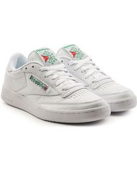 Reebok - Club C 85 Archive Leather Trainers - Lyst