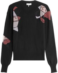 Emilio Pucci - Wool Pullover With Silk And Cashmere - Lyst