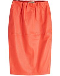 By Malene Birger - Floridia Leather Skirt - Lyst