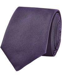 HUGO - Woven Silk Tie - Lyst