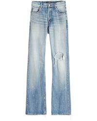Balenciaga - Bootleg Jeans - Lyst