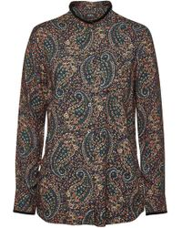 A.P.C. - Ruby Printed Top - Lyst