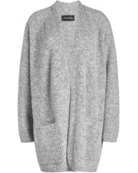 By Malene Birger - Cardigan With Wool And Kid Mohair - Lyst