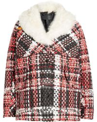 Rag & Bone - Jacket With Wool, Cotton And Shearling Collar - Lyst
