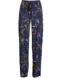 Markus Lupfer - Printed Trousers - Lyst