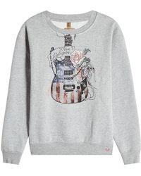 True Religion - Printed Sweatshirt With Cotton - Lyst