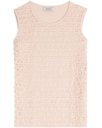 Bailey 44 - Sleeveless Top With Lace - Lyst