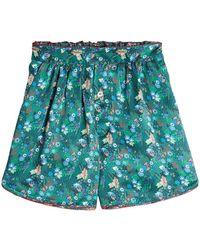 Tommy Hilfiger - Printed Silk Shorts - Lyst
