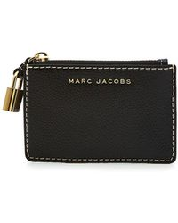 Marc Jacobs - Zipped Leather Wallet - Lyst